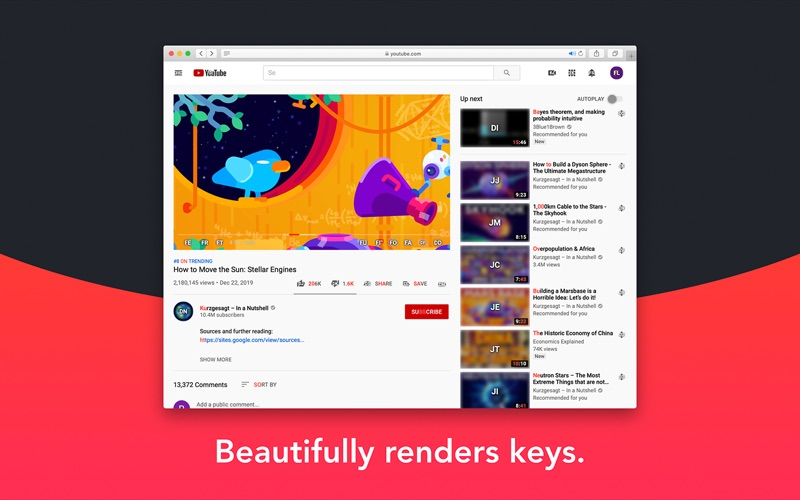 Keys for Safari for Mac