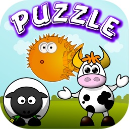 Animals Puzzles Slide