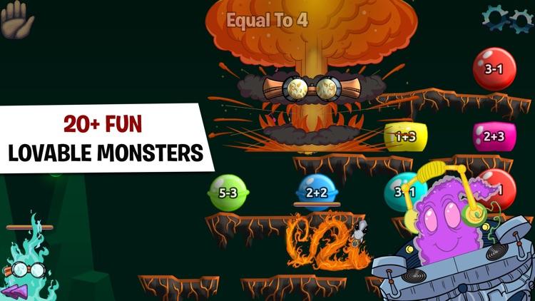 Monster Math - Games For Kids screenshot-3