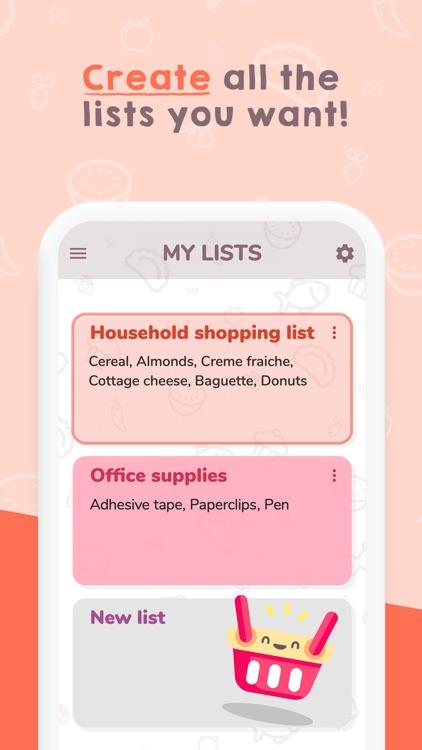 Easy Shopping List. screenshot-5