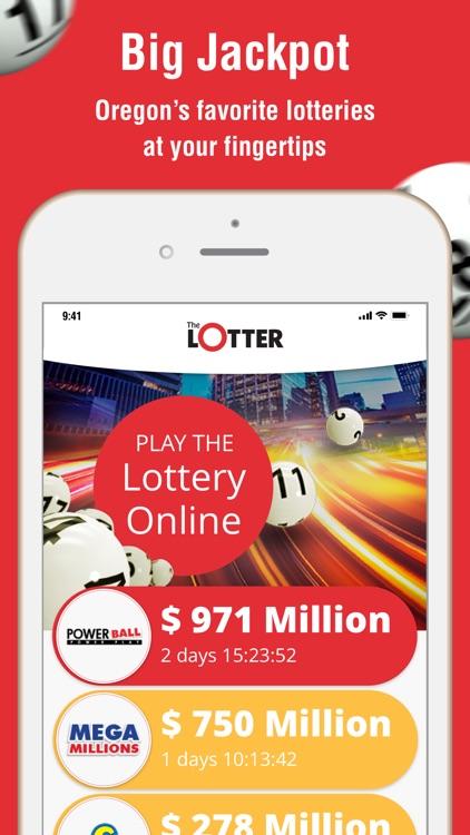 theLotter Oregon Play Lottery screenshot-0