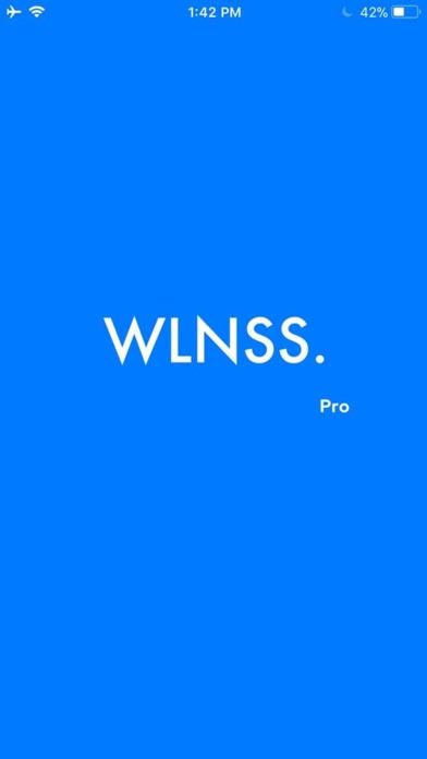 Wlnss Pro screenshot