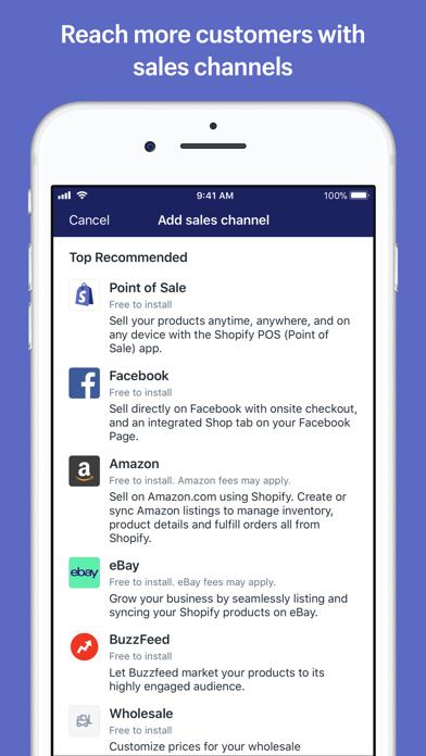 Shopify review screenshots