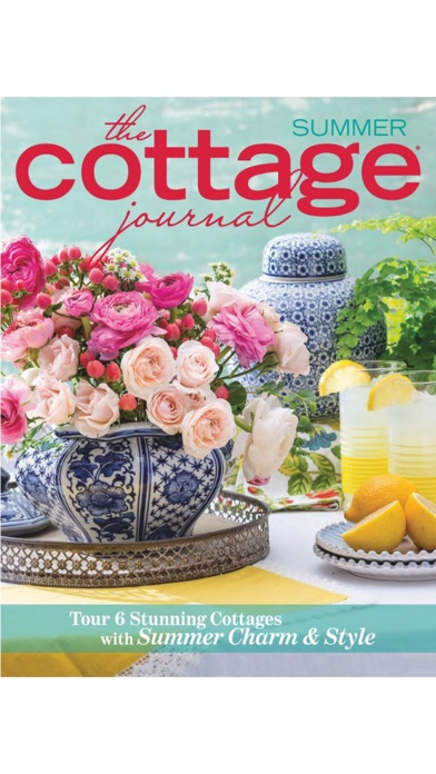The Cottage Journal Screenshot