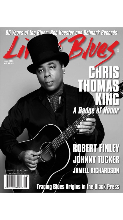 LIVING BLUES MAGAZINE screenshot-4