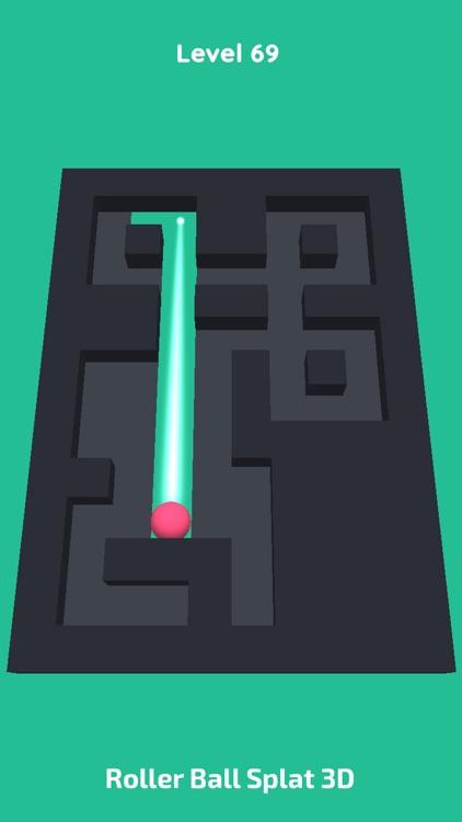 Roller Ball Splat 3D screenshot-6