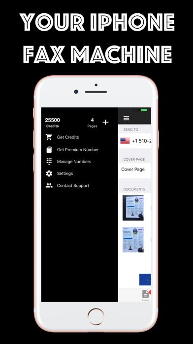 Fax from iPhone - Zap Fax App Screenshot