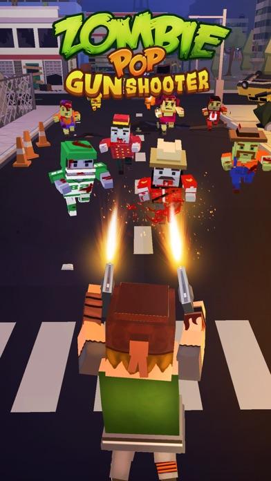 Zombie Pop : Gun Shooter screenshot 1