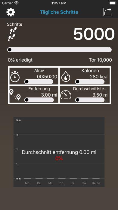 Pedometer Daily Steps CounterScreenshot von 6