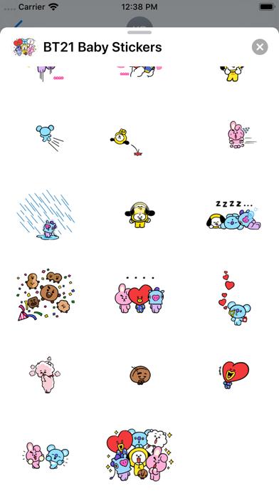 BT21 Baby Stickers screenshot 4
