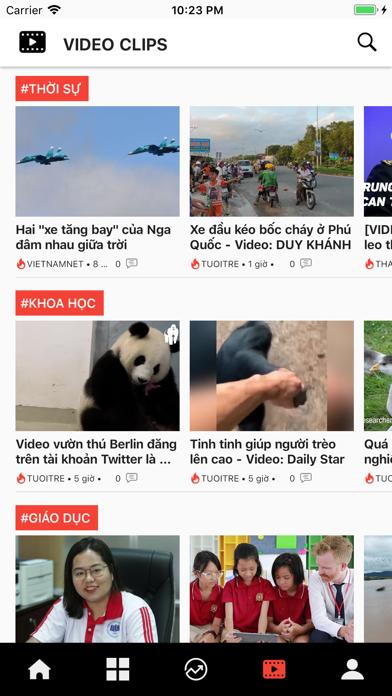 Tin nhanh 24h: Đọc báo tin tức screenshot 3