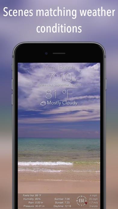 10 Day NOAA Weather + Screenshots