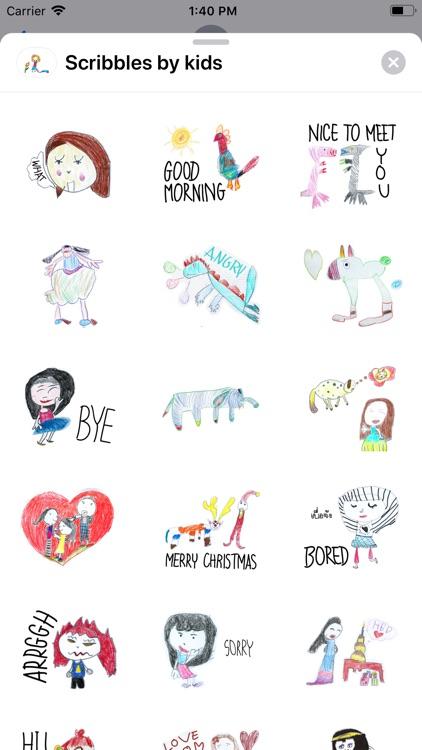 Scribbles by kids