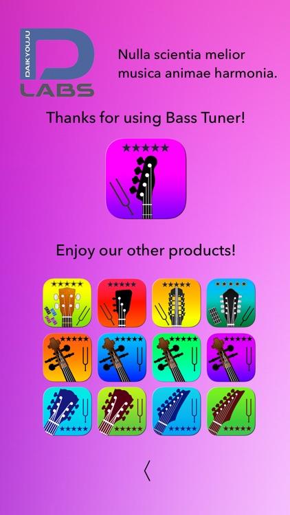 Bass Tuner Professional screenshot-4