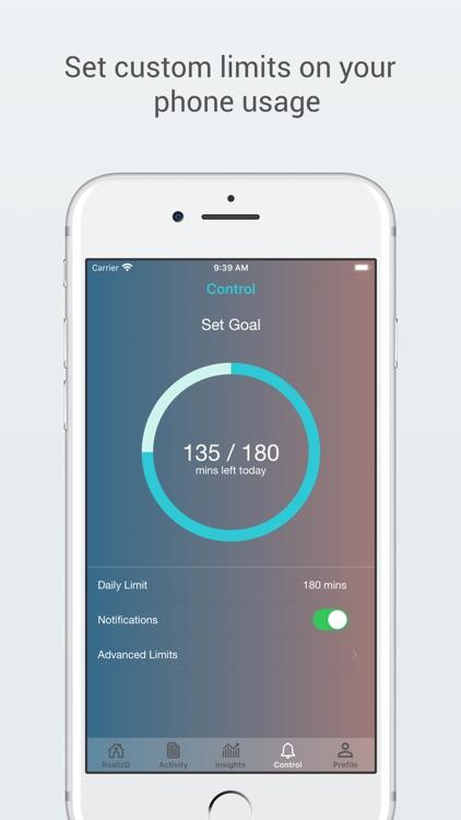 RealizD - Screen Time Tracker screenshot-4