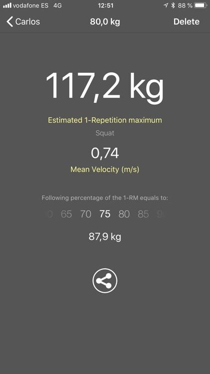 My Lift: Measure your strength screenshot-3