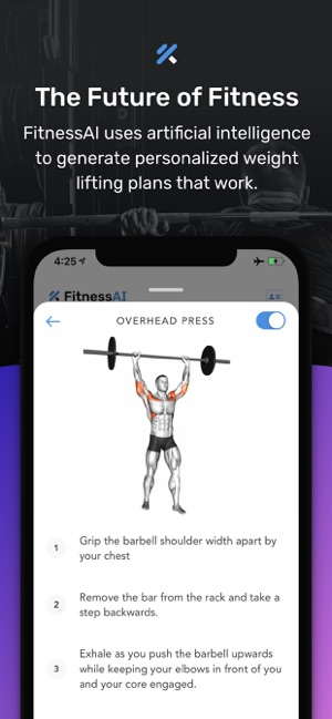 Weight Lifting by FitnessAI on the App Store
