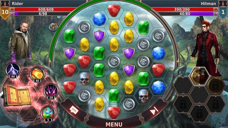 Gunspell 2 - Match 3 RPG screenshot-6