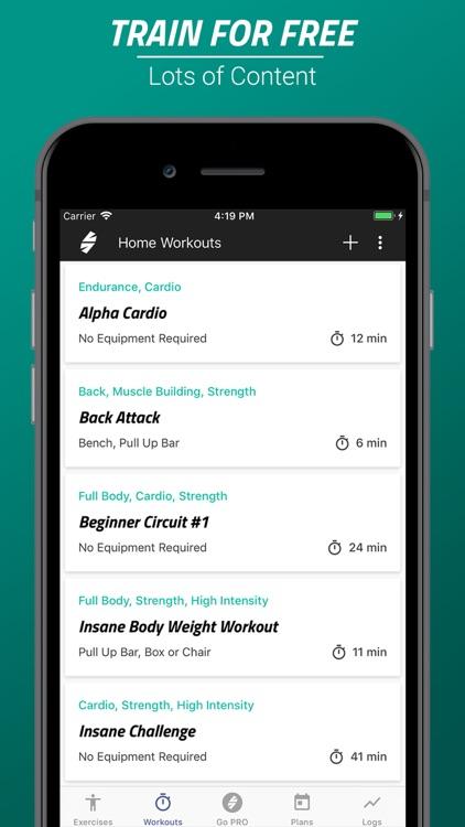 Home Workout & Fitness App screenshot-3
