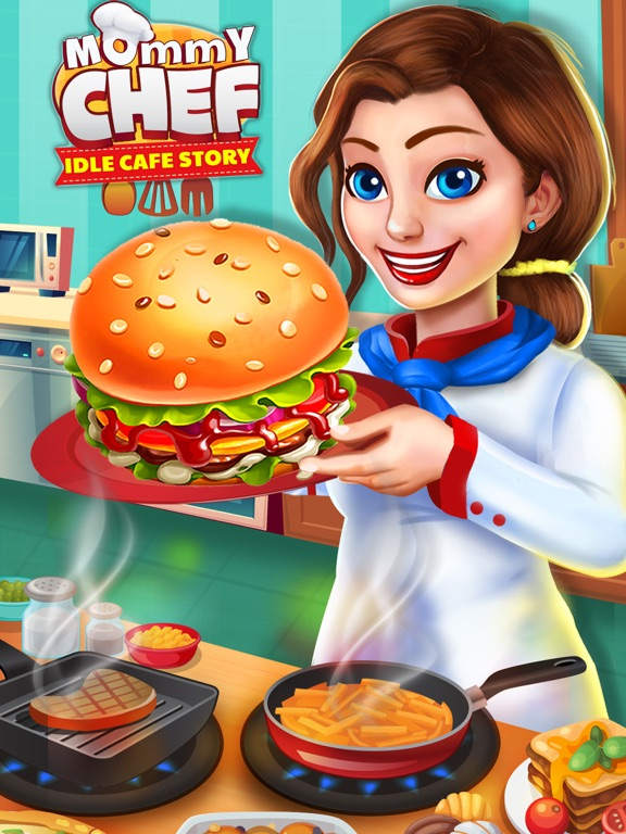 Mommy Chef : Idle Cafe Story screenshot 6
