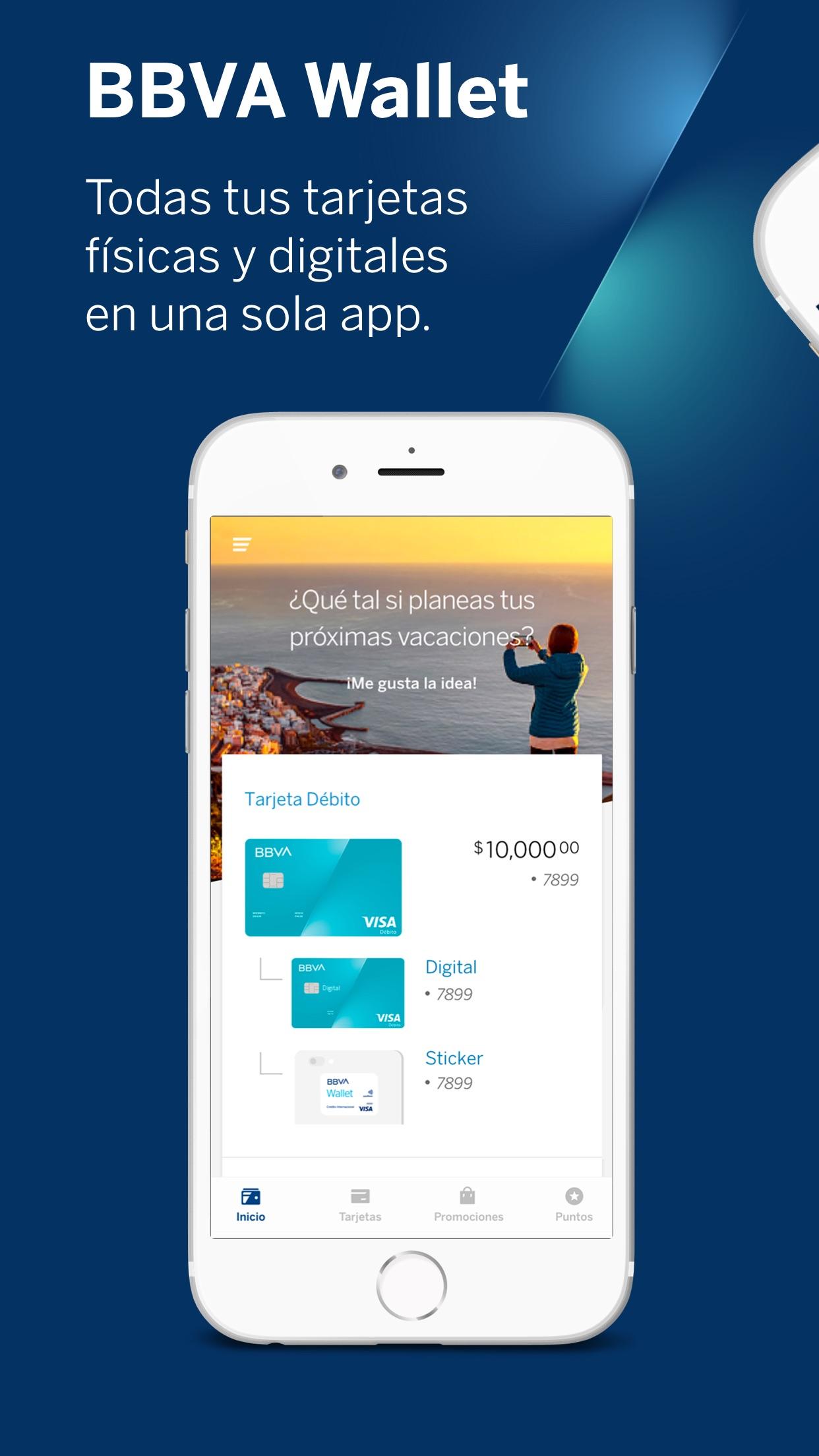 BBVA Wallet México Screenshot