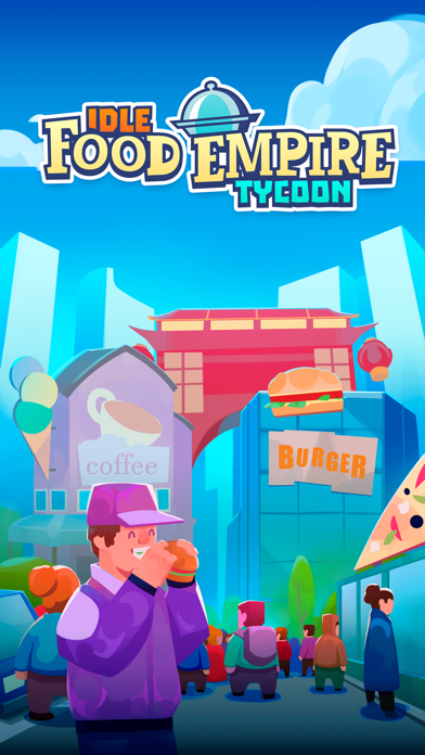 Idle Food Empire Tycoon