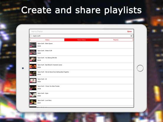 Music TV - Streamer & Video Player (for YouTube)! screenshot