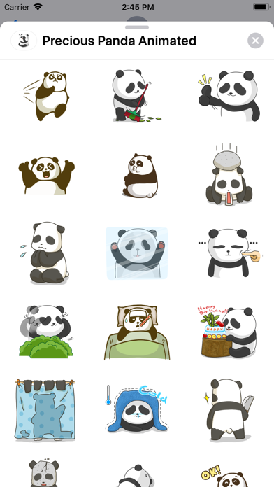 Precious Panda Animated screenshot 5