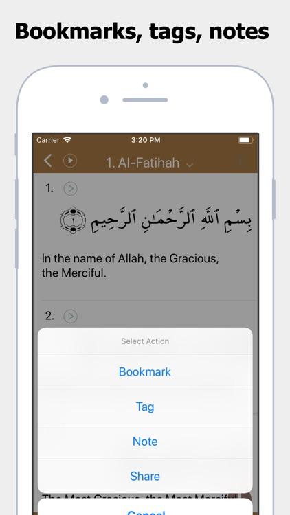 Al Quran App screenshot-3