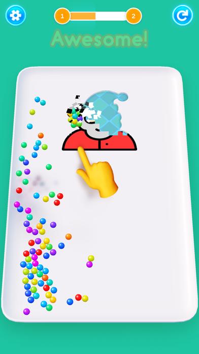 Color 3D Balls screenshot 1