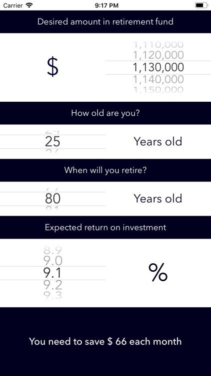 Retirement Planner + screenshot-3