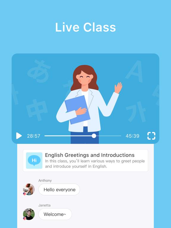 HelloTalk Language Exchange Learning App screenshot