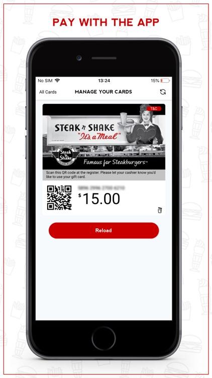 Steak 'n Shake Rewards Club screenshot-3