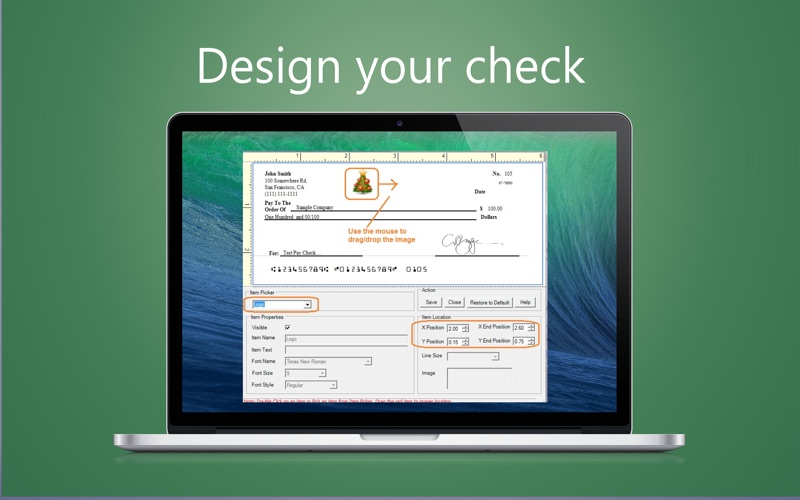 ezCheckPersonal for Mac