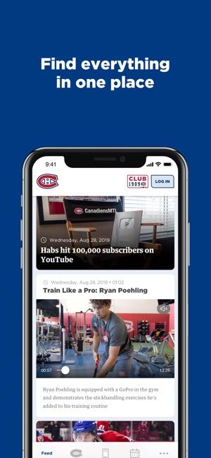 huge discount bd3fe 4274b Montréal Canadiens on the App Store