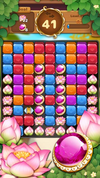 Jewels Garden : Blast Puzzle screenshot 6