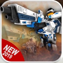 Earth War Robots : Epic Battle
