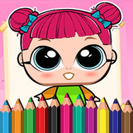 #1 Lol Dolls Coloring Book