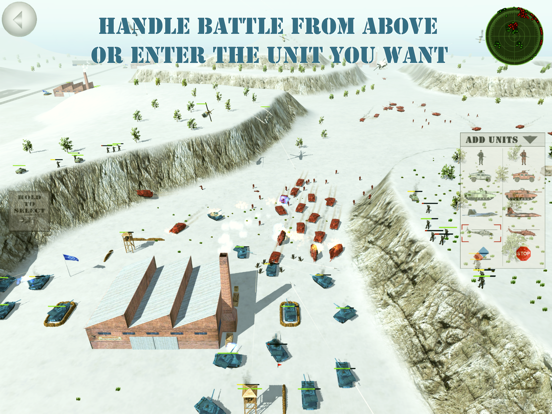 Battle 3D - Advanced strategic game screenshot