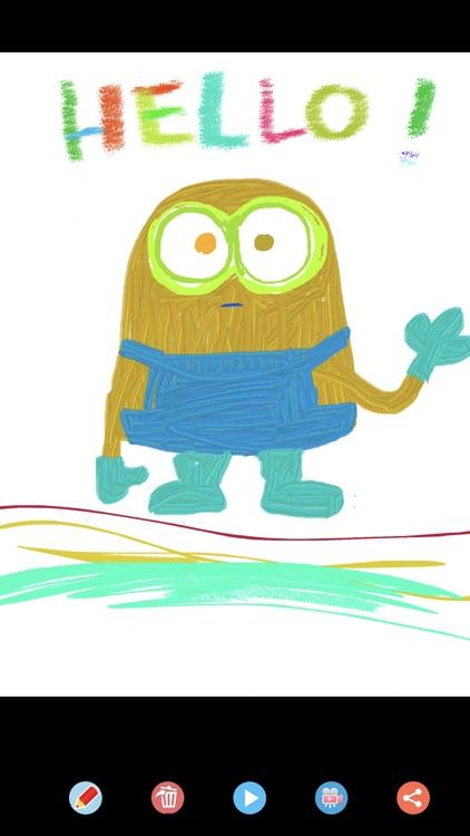 Joy Doodle: Movie Color&Draw screenshot-9