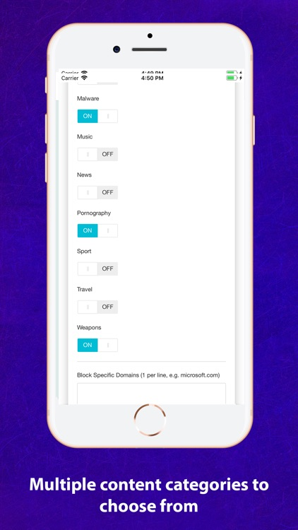 Wixio Parental Controls screenshot-5