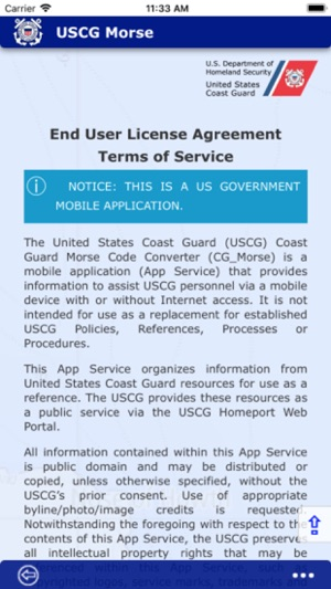 USCG Morse on the App Store