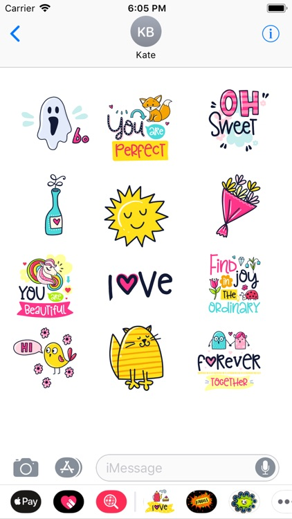 Stickers2Love screenshot-3