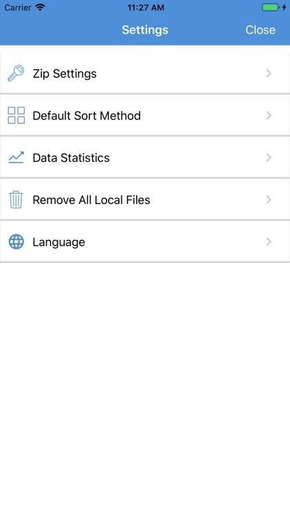 iZip Pro for iPhone screenshot-5