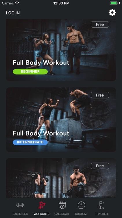 Weight Lift Log & Gym Tracker screenshot-0