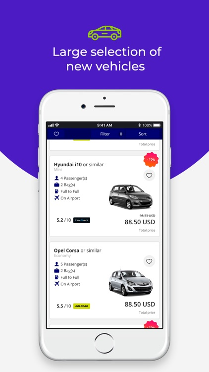 Bookingcar - cheap car rentals screenshot-3