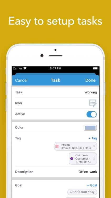 ATracker Time Tracker screenshot-6