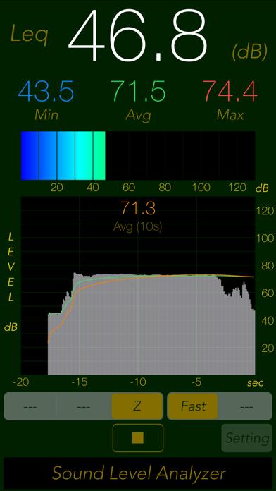 Sound Level Analyzer Liteのおすすめ画像3