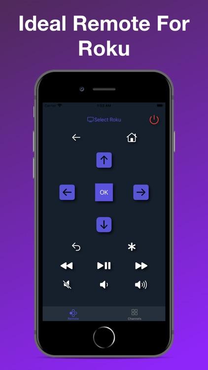 TV Remote Control For Roku screenshot-4