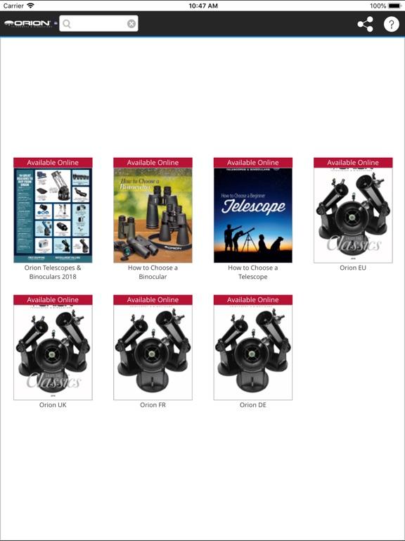Orion Telescopes & Binoculars - AppRecs